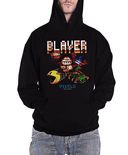 Officially Licensed Merchandise Pixels Retro Player Hoodie