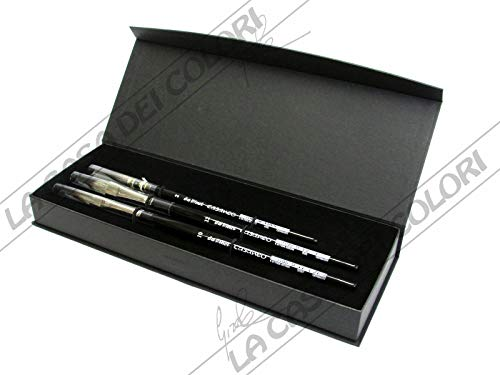 da Vinci Watercolor 4250DV Watercolor Brush Set Quill Size 2, Slant Size 10, Oval Size 12 Black 3 ()