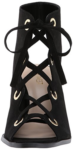 Fabric Nine Fashion West Fabric Black Quasso Boot Women's TBntqvBxP