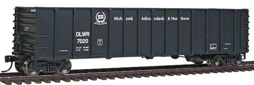 HO Scale 50' Coal Gondola 6-Pack - Ready to Run -- Depew, Lancaster & Western 7005, 7008, 7012, 7014, 7017, 7020 ()