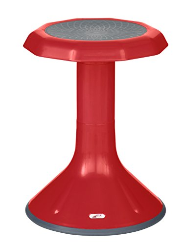 ECR4Kids ACE Active Core Engagement Wobble Stool for Kids, Flexible Classroom and Home Seating, 18