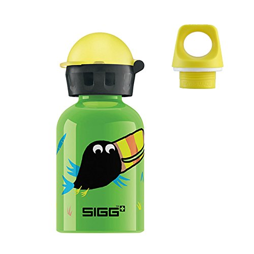 (Sigg .3l Bottle with 2 Caps- Jungle Birds)