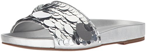 Rachel Zoe Women's Stella Slide Sandal, Silver, 7.5 for sale  Delivered anywhere in USA