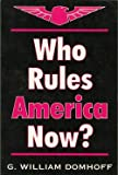 Who Rules America Now?, Domhoff, G. William, 0881339385