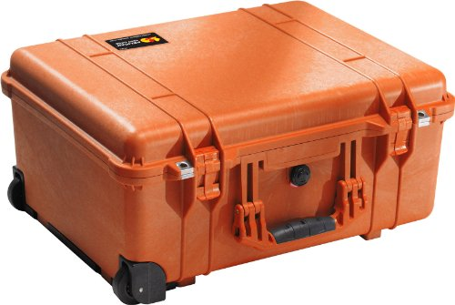 Pelican 1560 Case With Foam (Orange) by Pelican