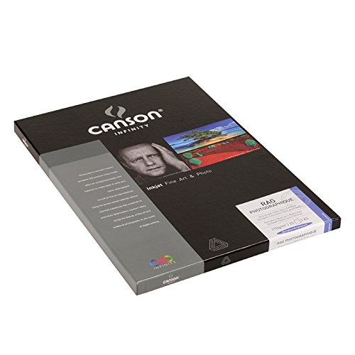 Canson Infinity Rag Photographique Paper (310 gsm, 13 x 19'', 25 Sheets) by Canson