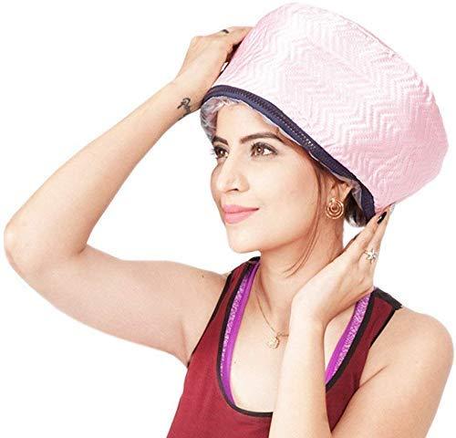 Brandshoppy Hair Care Thermal Head Spa Cap Treatment with Beauty Steamer Nourishing Heating Cap, Spa Cap For Hair, Spa…