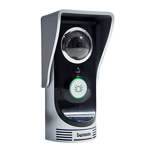 KKmoon WIFi-Enabled Video Door Phone Intercom, 2.0 Megapi...