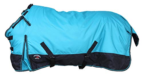 "CHALLENGER 70"" 1200D Turnout Waterproof Horse Winter Blanket Heavy 511"