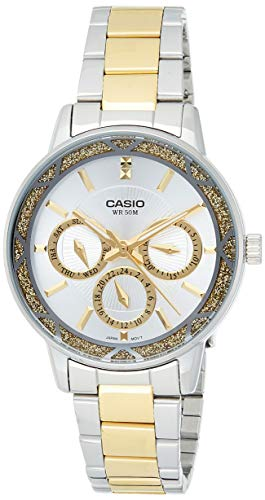 Casio Enticer Analog Multi Color Dial Women #39;s Watch   LTP 2087SG 7AVDF  A905