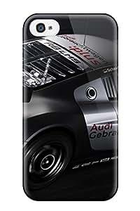 Iphone 4/4s IWVbKdp527PiFCa Audi R8 Lms 6 Tpu Silicone Gel Case Cover. Fits Iphone 4/4s