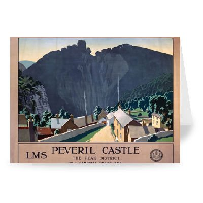 Peveril Castle - Greeting Card (Pack of ()