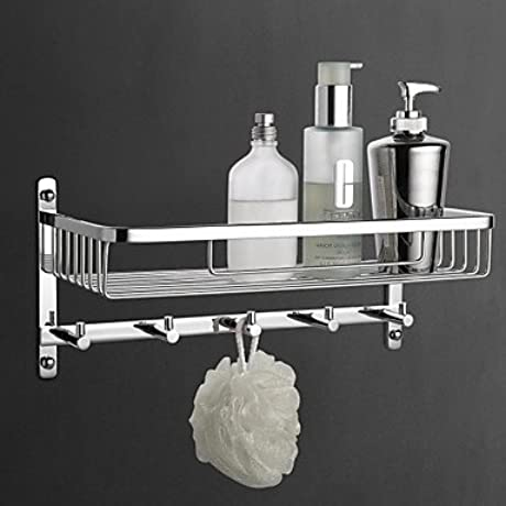 Soap Basket Contemporary Brass Material Chrome Finish Bathroom Accessory