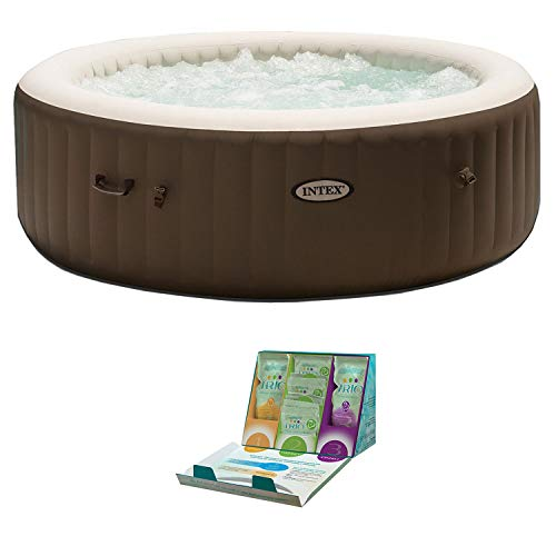 Intex PureSpa 6 Person Inflatable Hot Tub +...