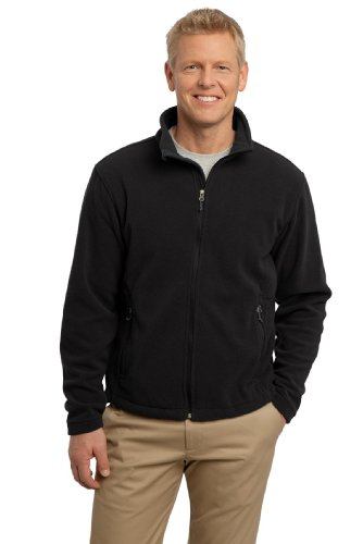 Port Authority Men's Value Fleece Jacket XL Black