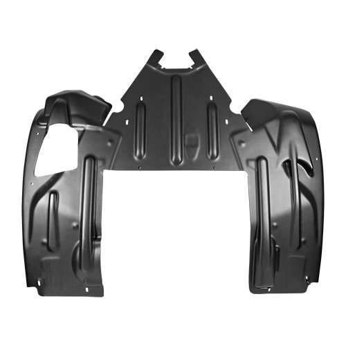Yamaha NEW OEM SR Viper Snowmobile Black Rear Skid Plate (Snowmobile Skid Plates)