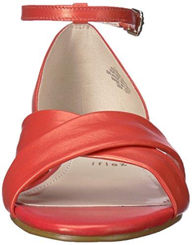 Leder Sandal Womens Wedge Nanetta Anne Medium Klein Espadrille Orange x8zqwpn4Pp