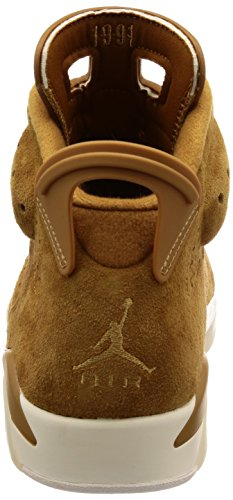 Nike Beige Homme golden Harvestsail Air Harvestgolden Jordan 6 De Chaussures Retro Gymnastique FUFpq1w