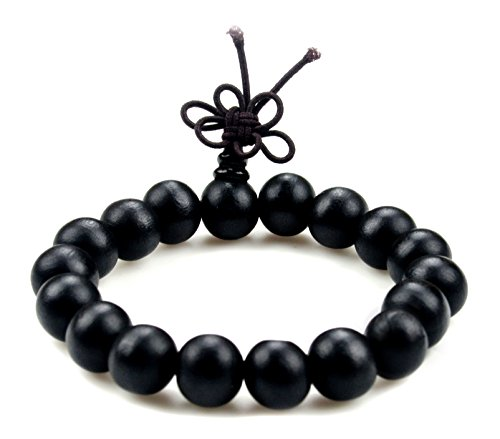 Dark Colour - Dark Color Bodhi Beads Tibetan Buddhist Prayer Bracelet Mala - W065-A …