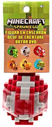 (Minecraft Spawn Egg Mini Action Figure - Mooshroom)
