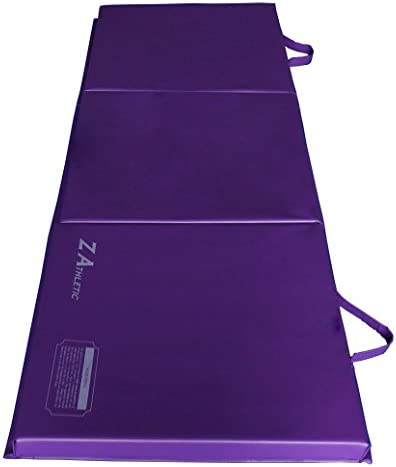 Z-Athletic 2ft x 6ft x 2in Gymnastics Exercise Folding Mats