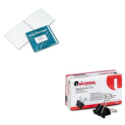 KITEKORUNV10200 - Value Kit - EKONOMIK SYSTEMS Wirebound Check Register Accounting System (EKOR) and Universal Small Binder Clips (UNV10200) ()