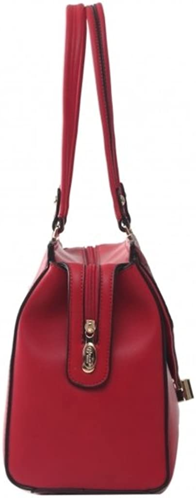 Verona H /& L New Womens Matte Crillic Vegan Leather Handbag