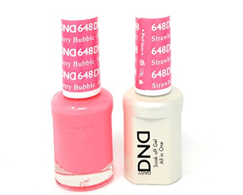 DND *Duo Gel* (Gel & Matching Polish) (648 Strawberry Bubble)
