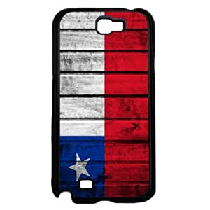 Chile Flag Red White and Blue with Brick Pattern Background Hard Snap on Phone Case Cover Samsung Galaxy Note 2 N7100