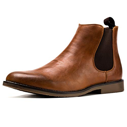 Jivana Men's Ankle Boots Oxford (11, Brown-23)