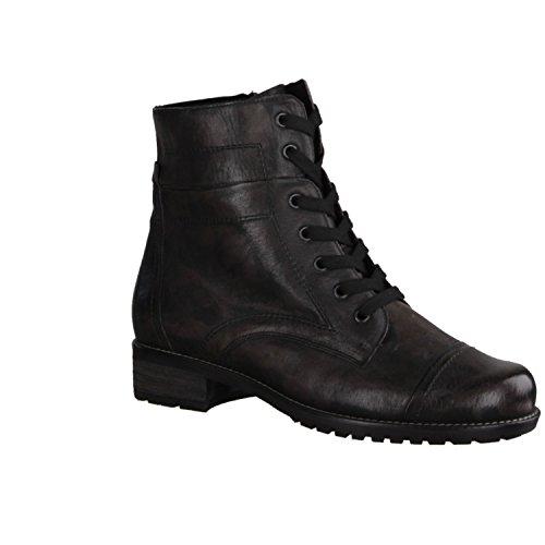 Semler Barbara B20483-044 - Zapatos mujer cómodo botas, botines, Marrón, altura de tacón: 15 mm