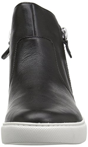 Gentle Souls Womens Carole Double Zip Mid-Top Sneaker Black Q8pKb