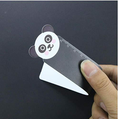 Solo Panda 1Pc 15 Centimetri di Kawaii del Fumetto degli Animali di plastica Pieghevole Righello di misurazione Diritta Strumento Righello Regalo Promozionale cancelleria