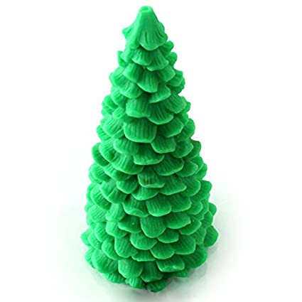 Nicole Xmas Tree Silicone Candle Mold 3D Pine Craft Handmade Soap Resin  Clay Mould - Amazon.com: Nicole Xmas Tree Silicone Candle Mold 3D Pine Craft