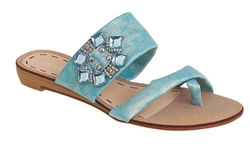Krasceva , Sandales pour femme Bleu bleu