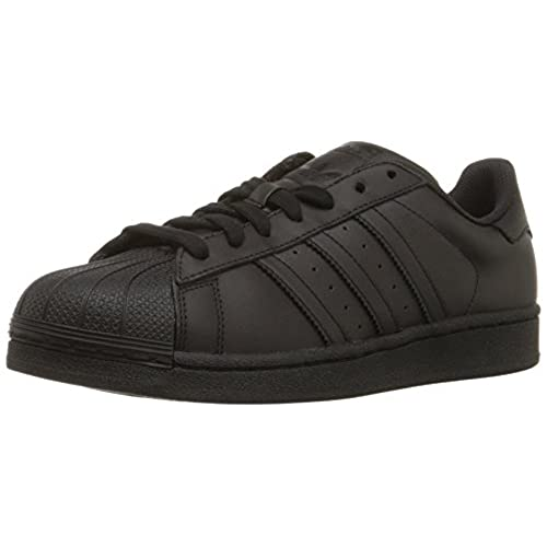 adidas Originals Men\u0027s Superstar Casual Sneaker, Black/Black/Black, 10.5 M  US