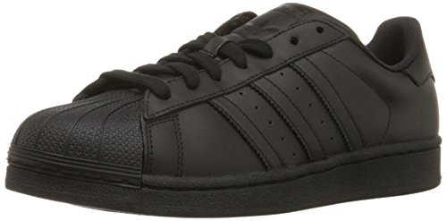 adidas Originals Men's Superstar Casual Sneaker, Black/Black/Black, 8 M US (Adidas Star)