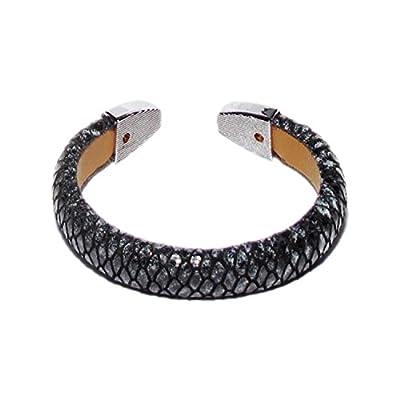 AUTHENTIC HANDMADE Leather Bracelet, Men Women Wristbands Braided Bangle Craft Multi [SKU003147]