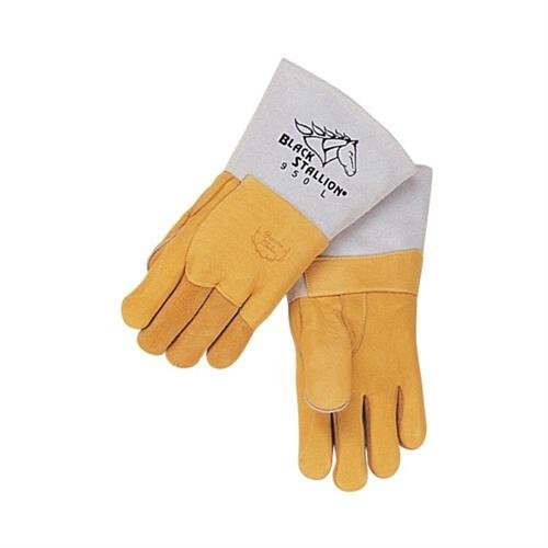 Black Stallion 950L Premium Lined Elkskin Stick Welding Gloves, Large by Black Stallion (Image #2)