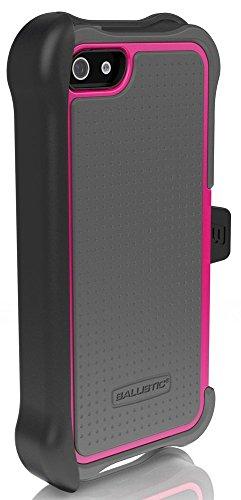 Ballistic SX0945-M115 SG Maxx Serie Case für Apple iPhone 5 charcoal/raspberry