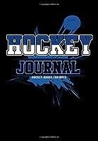 Hockey Journal: Hockey Notebook & Personal Stats