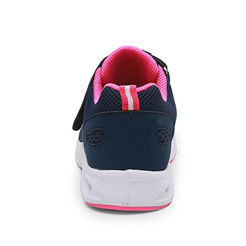 Shoes Sports Running Magenta Kashiwu Shoes Shoes Running Blue Dark and Velcro Breathable Leisure Unisex New Lightweight Tennis Sports qBnBUwX8xA
