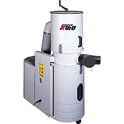 Kufo Seco UFO-DC103 3 HP 1356 CFM 1 Phase 220V Total Enclosed Canister Dust Collector