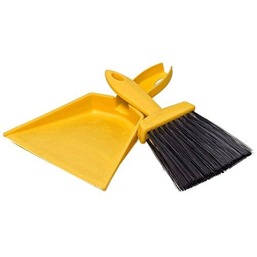 Pro Dust Pan (Tradespro 837295 Dust Pan & Whisk Broom Set)
