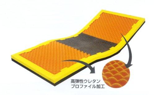 電気の要らない、床ずれ改善、快眠マット☆コンフォタイプ「ピタマットレス ニットカバー」 (こちらの商品の内訳は『コンフォタイプ ニットカバー仕様 PTZ83NA』のみ) B0093U7M4K