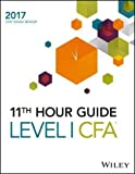 img - for Wiley 11th Hour Guide for 2017 Level I CFA Exam book / textbook / text book