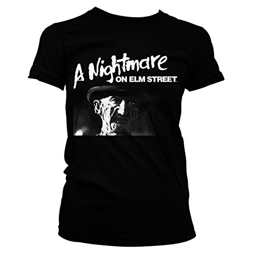 Nightmare Girly Black A Street Tee Officially Licensed Merchandise Elm On Az0qzd