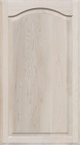 Unfinished Maple Arch Top Cabinet Door by Kendor, 36 High x 20 Wide by Kendor