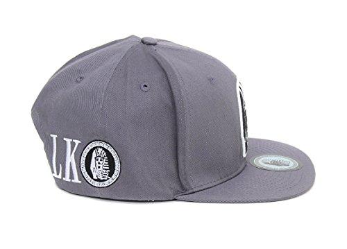 Last Kings Men's Tut Puff Snapback Hat-Gray