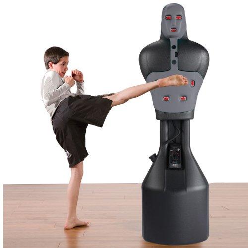 Pure Boxing The Man Punching Bag, Gray | Desertcart